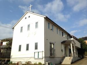 教会外観の写真